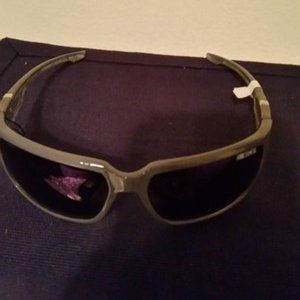 NWT Nascar grey polarized sunglasses